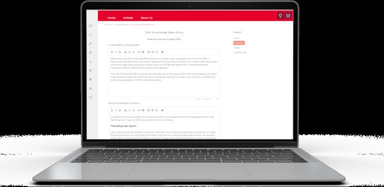 Akimbo Core Dashboard Screenshot